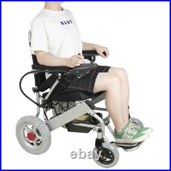 Medical Safty Use Electric Wheelchair Folding Lightweight 20A 24V Battery capaci