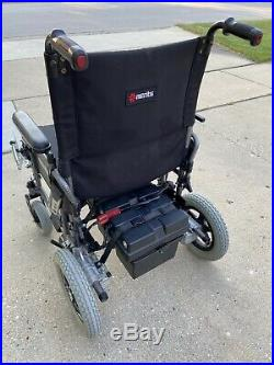 Merits Folding Power Wheelchair, Model P101, Seat Width 18, New Battery&Charger