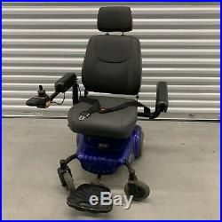 Merits P320 Lightweight Power Wheel Chair, 300 lb Capacity No Charger/Battery