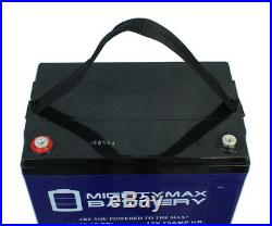 Mighty Max 12V 75AH GEL Battery Replacement for Quantum Q600Z Power Chair