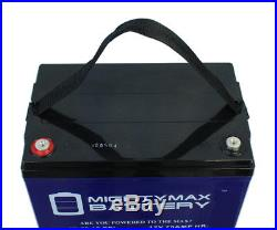 Mighty Max 12V 75AH GEL Battery Replaces Permobil M300 PS JR Power Wheelchair