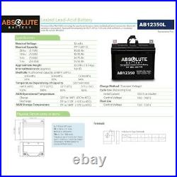 NEW 2PK AB12350 12V 35AH Battery Replaces Pride Jet 3 Ultra Power Wheelchair