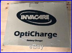 NEW Invacare OptiCharge Electric Wheelchair / Power Chair 3 Step Battery Charger