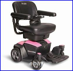 New GO CHAIR Pride Mobility Travel Electric Powerchair + 18AH batteries upgrade