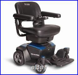 New GO CHAIR Pride Mobility Travel Electric Powerchair with 18AH batteries