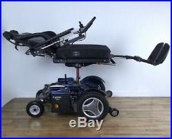 Permobil C500 3G power wheelchair LOADED Seat Lift, Black Tires, New Batteries