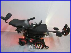 Permobil F3 Wheelchair, Power Tilt, Recline, Legs, 12 Lift & Lights. New Batteries