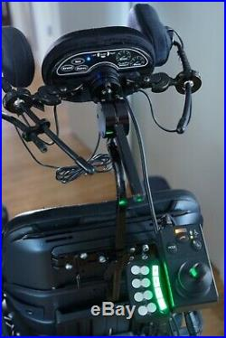 Permobil F3 power wheelchair (includes Switch-It head controls) 2 new batteries