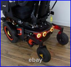 Permobil F3 wheelchair power 12 seat lift, Lights, New Batteries, SHIPS FREE