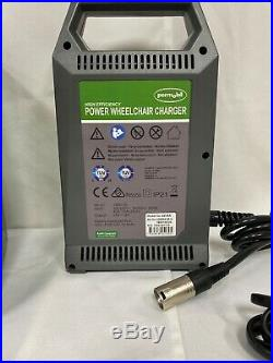 Permobil High Efficiency Power Wheelchair Battery Charger 24V 8A (NEW)