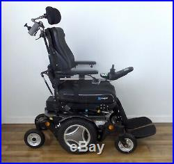 Permobil M300 power wheelchair LOADED seat lift, new batteries, black tires F3