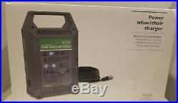 Permobil Power Wheelchair Battery Charger 24V 8 Amp Model 24V8A Tested