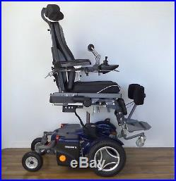 Permobil power standing wheelchair VS lights pack, black tires, new batteries
