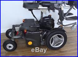 Permobil standing wheelchair, VS power lights pack, black tires, new batteries