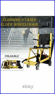Portable Stair Lifting Motorized Climbing Wheelchair Stair Lift Chair Elevator