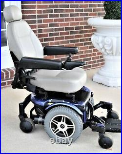 Power Chair Jazzy 600 55 amp batteries large drive wheels excellent for outdoors