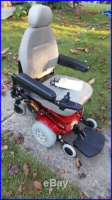 Power Wheelchair Mobility Electric JAZZY SELECT Wheel Chair NEW BATTERIES Plus+
