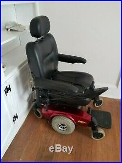 Power mobility, Pronto M51 red power chair Mobility Scooter w working battery