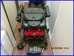 Power wheelchair Jazzy 600es great motors and batteries red/black back folds