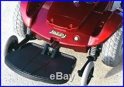 Power wheelchair Jazzy Select sharp chair new batteries 300 lbs. Rated