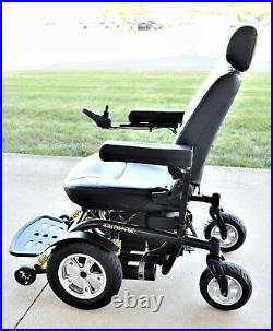 Power wheelchair Trident by Drive 450 lb rated big burley new 40 amp batteries