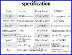 Premium Lithium Battery 2019 Upgraded Heavy Duty Automatic Power Scooter Chair