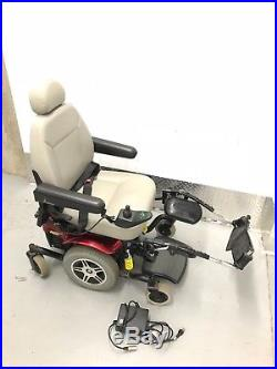 Pride Jazzy 614 HD Power Wheelchair With Batteries, Charger And Prairie View Ram