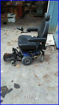 Pride Jazzy J6 Compact Power Chair Electric Wheelchair New Batteries