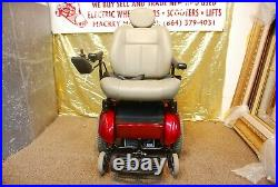 Pride Jazzy Jet 2 HD Electric Power Wheelchair Scooter with NEW BATTERIES