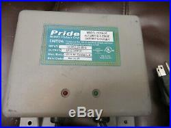 Pride Jazzy Power Wheelchair On-board Battery Charger 2605A-24 #3053
