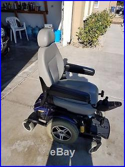 Pride Jazzy Select-6 Electric Wheelchair With Battery Charger
