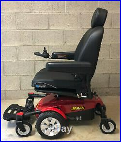 Pride Jazzy Select 6 Power Wheelchair Only 2 hours on it New Batteries