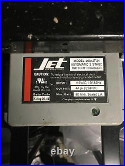 Pride Jet On Board Automatic 3 Stage Battery Charger Power Wheelchair 2904JT-24