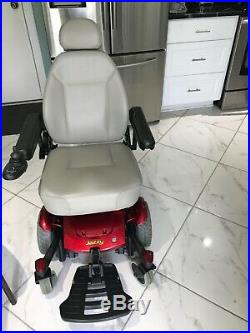 Pride Mobile Jazzy Select 6 Power Chair- Red New Batteries Good condition