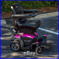 Pride Mobility GO-CHAIR Travel Electric Powerchair Used + 18 AH New Batteries