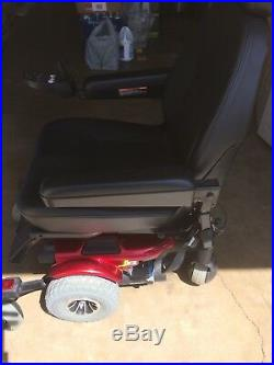 Pride Mobility J6 Electric Wheelchair (2012)Red. New batteries. Used 2 days