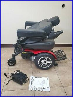 Pride Mobility Jazzy Elite HD Electric Wheelchair 26 Wide includes batteries
