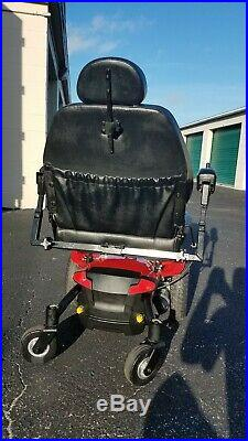 Pride Mobility Jazzy Elite HD POWER WHEELCHAIR WITH 450LB BRAND NEW BATTERIES