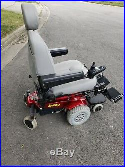 Pride Mobility Jazzy Select Electric Power Wheelchair NEW BATTERIES! Good Cond