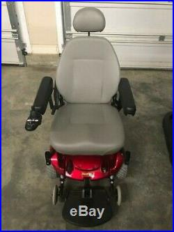 Pride Mobility Jazzy Select Electric Wheelchair New Batteries