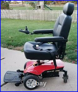 Pride Mobility Jazzy Select Elite Electric Wheelchair New Batteries, Charger plus