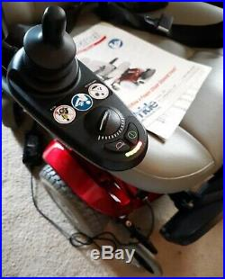 Pride Mobility Jazzy Select Power Chair withCharger, Owners Manual NEEDS BATTERIES