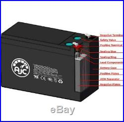 Pride Mobility Jet 2 HD Power Chair 12V 55Ah Wheelchair Replacement Battery