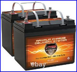 Pride Mobility QTY2 VMAX MB857-35 AGM Battery Jazzy 1113 1143 Rally Sundancer
