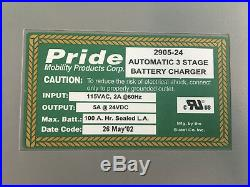 Pride On Board Battery Charger for Powerchair 24 Volt 5 Amp Model 2905-24 #B436