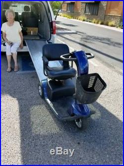 Pride electric wheelchair Victory10 New Battery ramp included