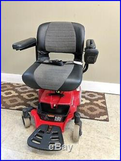 Pride mobility go chair. Mobile power wheelchair. New batteries