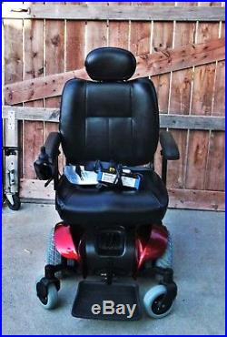 Pronto M 41 electric Power wheelchair 1 hr of use on chair with new batteries