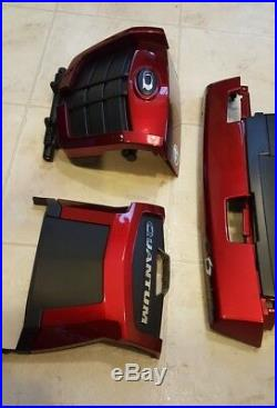 Quantum Q6 Edge Powerchair Candy Apple Red Plastic Body Shroud and Battery Cover