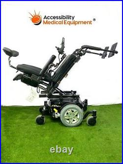 Quantum Q6 Edge Rehab Power Chair with Tilt and New Batteries